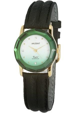 Akzent Damen Uhren - Damen-Uhren mit Polyurethan Lederband SS7906500012