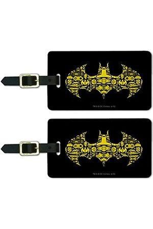 Graphics and More Gepäckanhänger mit Batman-Symbolen