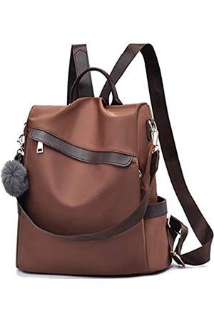 ERFEI Rucksack für Damen, Nylon, wasserdicht, diebstahlsicher, Tagesrucksack, leicht, große Kapazität