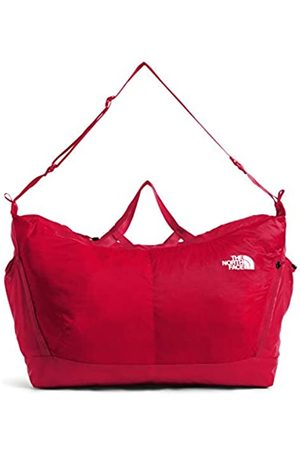 The North Face Flyweight Duffel, TNF Red/TNF White