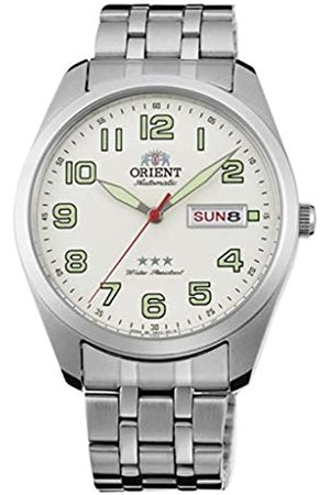 Orient Uhren - Unisex Erwachsene Analog Automatik Uhr mit Edelstahl Armband RA-AB0025S19B