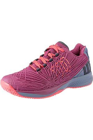 Wilson Damen Schuhe - KAOS 2.0 Tennisschuhe Damen, (Pflaume/Flint Stone/Neon )