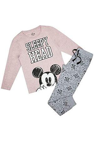 Disney Damen Mickey Mouse Nap Pyjama Set Pyjamaset