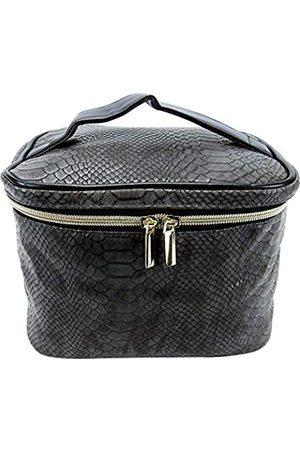 Kingsley Damen Reisetaschen - Kosmetiktasche mit Reptilien-Design