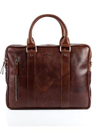 """STOKED Laptoptasche echt Leder Nathan groß Businesstasche Umhängetasche Aktentasche 15.6"""" Ledertasche Herren"""