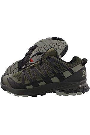 Salomon Herren XA PRO 3D V8, Leichte Schuhe für Trail Running und Wandern, (Grape Leaf/Peat/Shadow)
