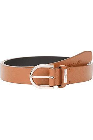 Calvin Klein Damen Round Belt 25MM Saffiano Grtel