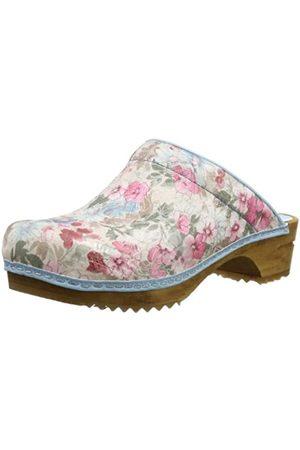 Sanita Damen Clarita Open Pantoletten, Mehrfarbig (Rose 65)