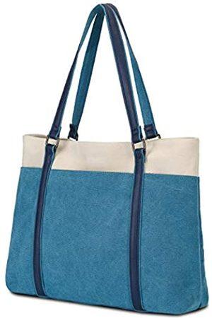 Gywon Damen Handtaschen - Tote-Bags-for-Women-Canvas-Work-Totes-Handtasche-Geldbörse/Laptop-Schultertasche, passend für 39