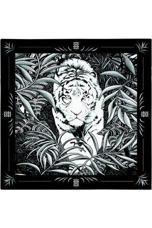 Maison Fetiche Herren Schals - Légende Black & White 130