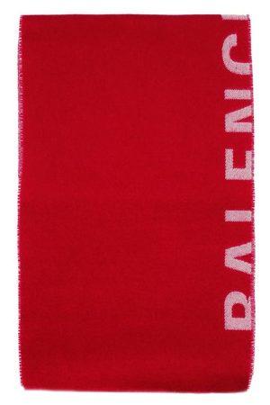 Balenciaga Macro-Logo-Schal