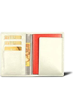 Lucrin Reisepass und Treue Kartenhalter - - Glattleder