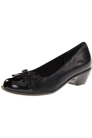 Walking Cradles Damen Pumps - Damen-Collins, (schwarzes Leder)
