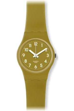 Swatch Damen-Armbanduhr Green Trace LG122C