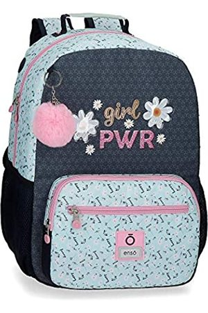 """Enso Girl Power Laptop-Rucksack für die Schule 32x42x14 cms Polyester 14"""" 18.82L"""