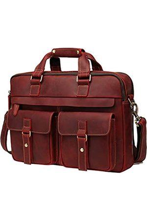 WILD WORLD Aktentasche Umhängetasche für Herren Business Messenger und Laptop Tasche für bis zu 15