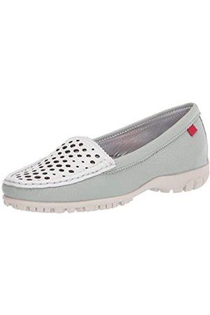 Marc Joseph New York Damen Schuhe - Damen Golf-Schuh, Leder Made in Brazil Luxus mit verporiertem Vamp, Grn (Mint/ getrocknet)