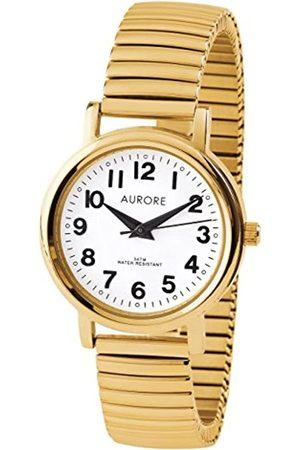 AURORE Damen Uhren - DamenAnalogQuarzUhrmitEdelstahlArmbandAF00017