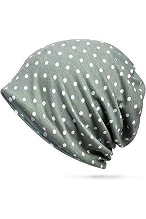 BFVV Baumwoll-Mütze, Turban, weich, gepunktet, Chemo-Mütze, modisch