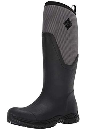 Muck Boots Damen Gummistiefel - Damen Arctic Sport II Tall Gummistiefel, Black/Grey