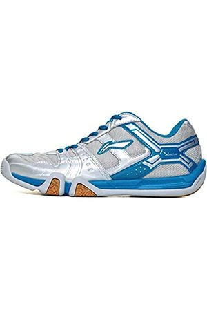 Li Ning LI-NING Saga Herren Badminton-Schuhe, leicht, atmungsaktiv, professionelle Sportschuhe, AYTM085, ( Aytr041-7h)