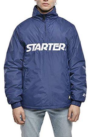 STARTER BLACK LABEL Herren Logo Half Zip Jacket Windjacke