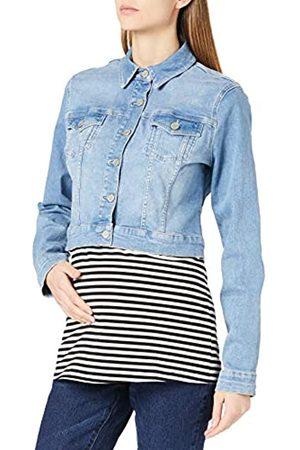 Noppies Damen Jeans Jacket Emory Jeansjacke, Light Aged Blue-P409
