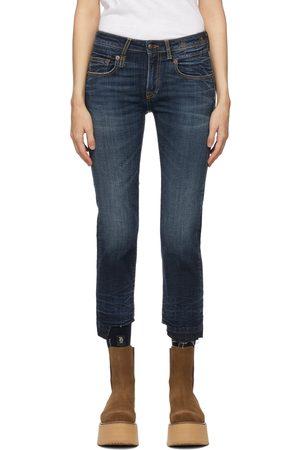 R13 Herren Straight - Blue Straight Boy Jeans