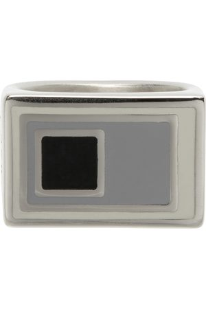 A-cold-wall* Herren Ringe - Silver Lateral Ring