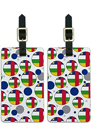Graphics and More Graphics & More Nationalflagge der afrikanischen Republik - Luggage.Tags.09712