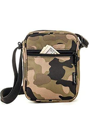 Fydelity Damen Umhängetaschen - Umhängetasche für Festivals, kleine Brusttasche, (Army Camouflage)