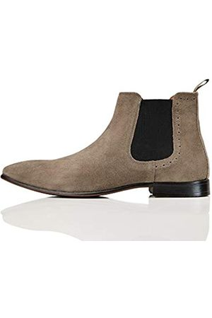 FIND Albany Suede Chelsea Boots, (Grey)