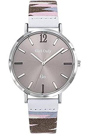 GO Girl Only Damen Uhren - GOGirlOnlyDamenAnalogQuarzUhrmitStoffArmband699143