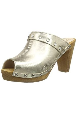 Sanita Damen Clogs & Pantoletten - Damen Polly Plateau Sandal Clogs, ( 12)