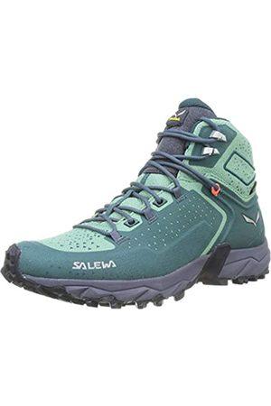 Salewa Damen WS Alpenrose 2 Mid Gore-TEX Trekking-& Wanderstiefel, Atlantic Deep/Feld Green