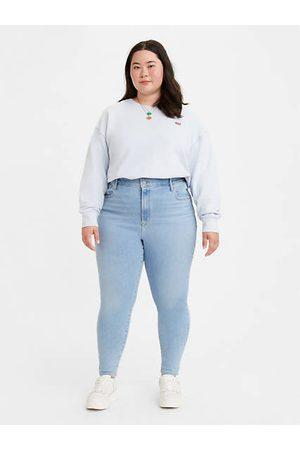 Levi's Damen Skinny - Mile High Super Skinny Jeans (Plus Größe) - Medium Indigo / Medium Indigo