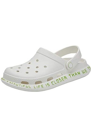 SIKELO Herren Sandalen - Herren Damen Garten Clogs Schuhe Sandalen Pantoffeln