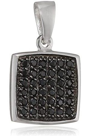 Pasionista Damen-Anhänger 925 Silber rhodiniert Zirkonia Brillantschliff - 640198