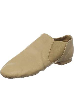 SANSHA Damen Schuhe - Moderno Jazzschuh aus Leder, (hautfarben)