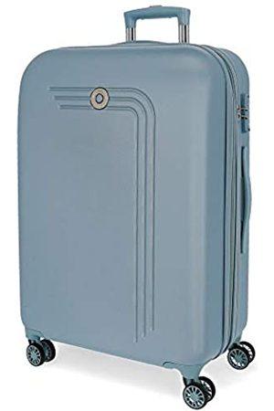 MOVOM Riga Großer Koffer Blau 56x80x29 cms Hartschalen ABS TSA-Schloss 108L 4