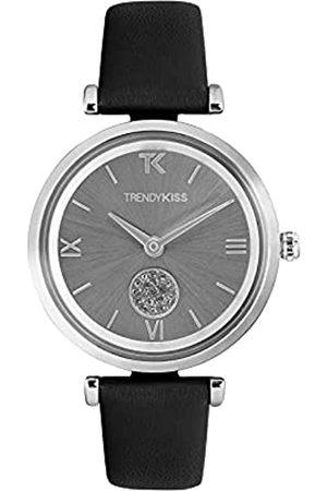 Trendy Kiss Damen Uhren - Damen Analog Quarz Uhr mit Leder Armband TC10139-02