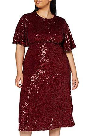 Mela Damen London-Sequin MIDI Dress Lässiges Kleid