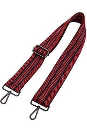 Umily Breiter Schultergurt, verstellbarer Ersatz-Gürtel, Gitarren-Stil, Cross-Body-Handtasche, ( ( Metall))