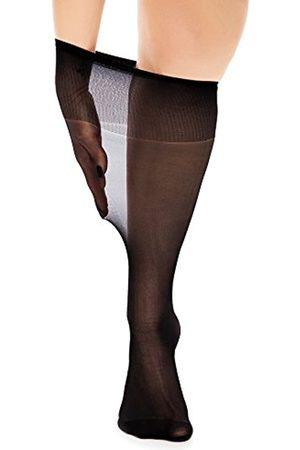 Glamory Damen extraweite Kniestrümpfe Fit 20 DEN