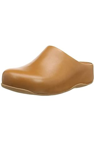 FitFlop Damen shuv Leather Holzschuh