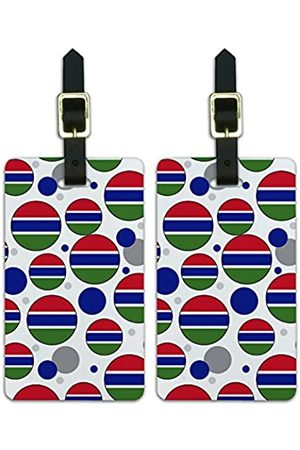 Graphics and More Graphics & More C-i-Gambia Nationalflagge - Luggage.Tags.09721