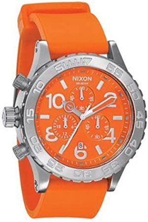 Nixon Herren-Armbanduhr Chronograph Plastik A038877-00
