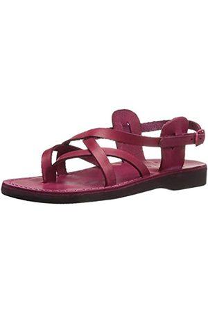 Jerusalem Sandals Damen Tamar Backle Gladiator Sandalen, Pink (Rose)