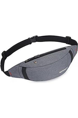 HYXRF Bauchtasche mit Reißverschluss, Hüfttasche, Reisetaschen, mit verstellbarem Gurt, für Damen und Herren, Outdoor, Wandern, Laufen, Radfahren
