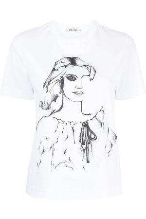 PORTS 1961 T-Shirt mit grafischem Print
